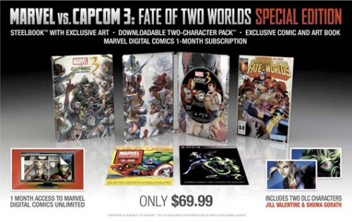 MVC3 Special Edition Gamestop