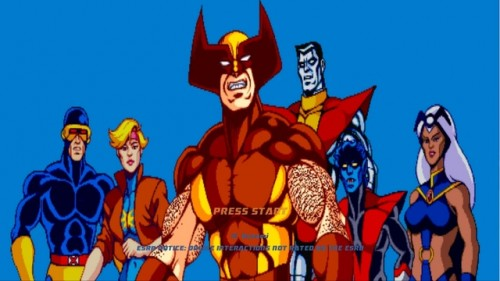 X-Men Arcade Image 1