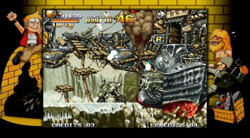 Neo Geo Station Metal Slug