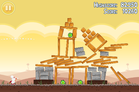 Angry Birds Mobile Version In Game Image 2