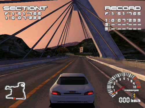 R4: Ridge Racer Type 4 In Game Image 1