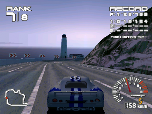 R4: Ridge Racer Type 4 In Game Image 2