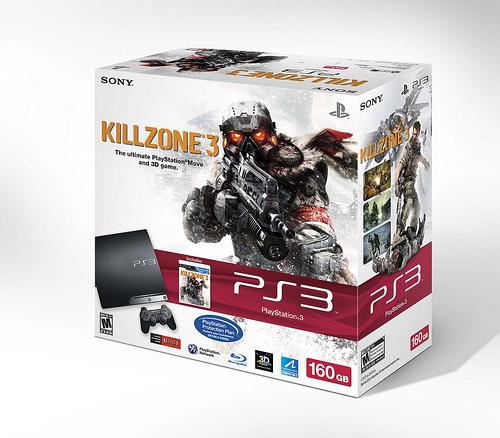 Killzone 3 PS3 Bundle Image