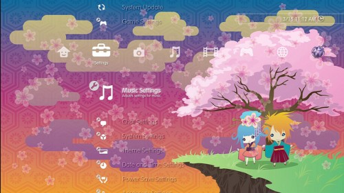 Donate To Japan PS3 Theme