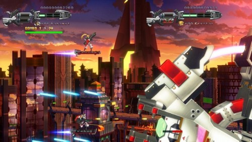 Hard Corps Uprising PSN Image 3