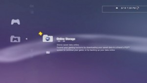 PS3 Cloud Game Save Storage Image