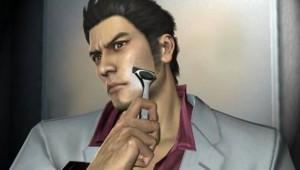 Yakuza Kazuma Using Razor Image