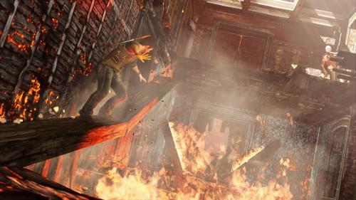 Uncharted 3 Drake Balancing Image