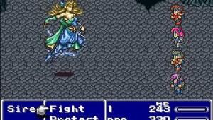 Final Fantasy V combat scene