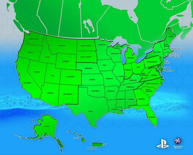 PSN Map