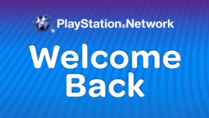 PSN Welcome Back Image