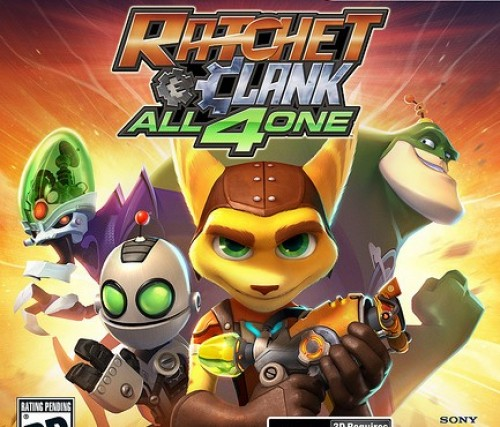 Ratchet Clank All 4 One Box Art