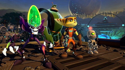 Ratchet Clank All 4 One Image 5