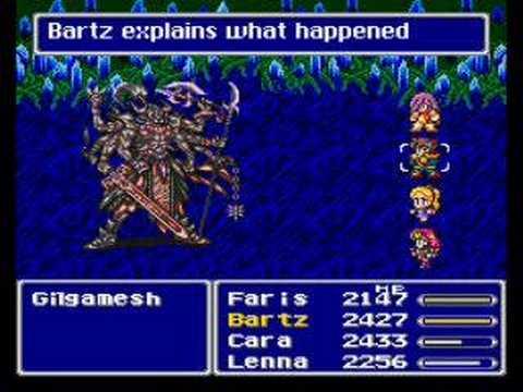 Final Fantasy V Gilgamesh
