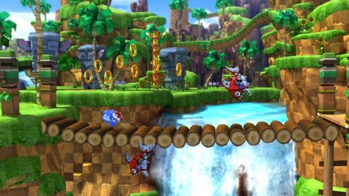 Sonic Generations Green Hill Zone Classic Image