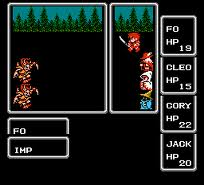 FF1 battle 1
