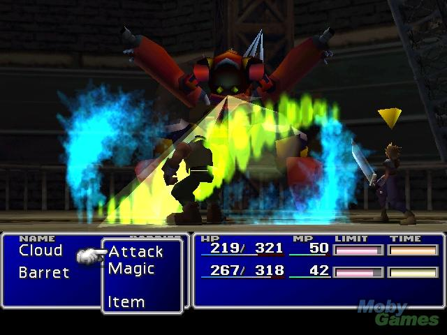 FFVII PSX screenshot