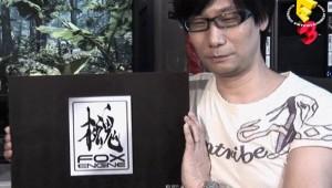 Hideo Kojima presenting the Fox Engine.