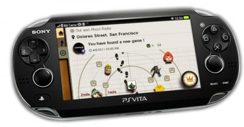 Sony PlayStation Vita  Near App