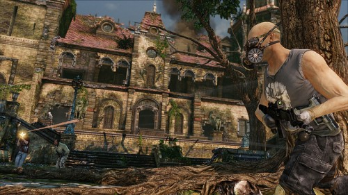 Uncharted 3 Multiplayer French Chateau Image