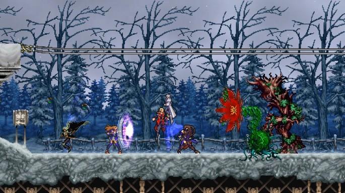 castlevania harmony of despair gameplay