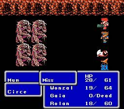 Final Fantasy III Battle