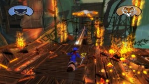 Sly Cooper Thieves In Time Boss Fight El Jefe Level Image
