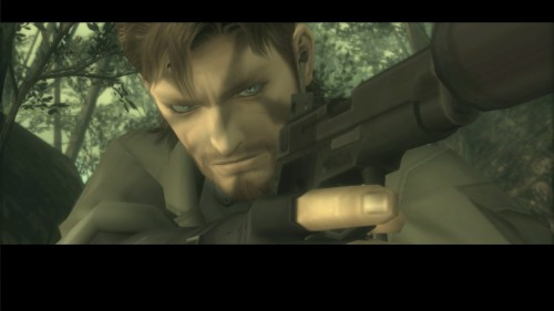 Metal Gear Solid HD Collection Snake Eater Close Up