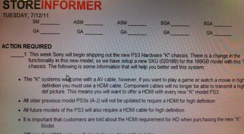 Sony Blu-ray Leaked Memo