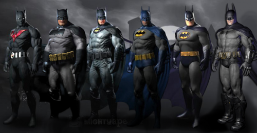 Batman Arkham City Pre Order Batman Skins