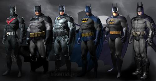 Batman Arkham City Pre Order Batman Skins