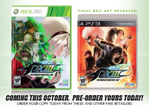 King Of Fighters XIII Box Art