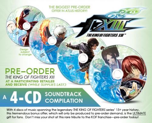King Of Fighters XIII Pre-Order Bonus