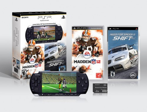 Madden 12 Need for Speed PSP Bundle