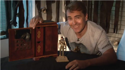 Nolan North Uncharted 3 Collectors Edition Video