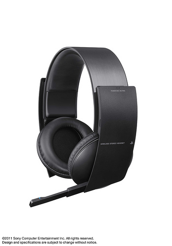 Official PS3 Wireless Stereo Headset Image 1