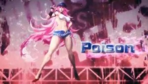 Poison Street Fighter X Tekken Screen