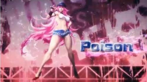 Poison Street Fighter X Tekken Screen