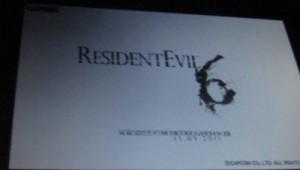 Resident Evil 6 Alleged Logo