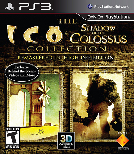 ICO Shadow of the Colossus Collection Final Box Art