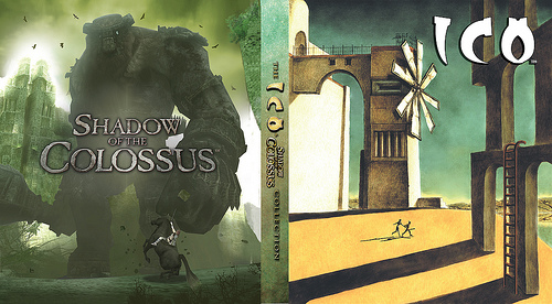ICO Shadow of the Colossus Collection Inside Box Art
