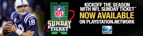 NFL Sunday Ticket Banner