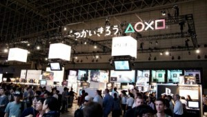 Sony's Game Booth at TGS 2010