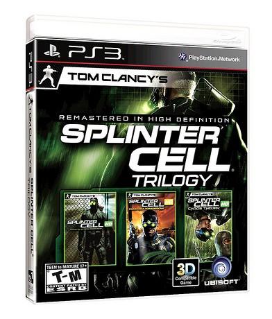 Splinter Cell Trilogy PS3 Box