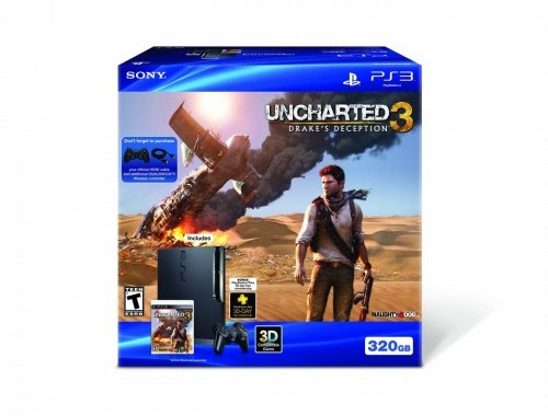 Uncharted 3 PS3 Bundle Box