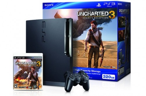 Uncharted 3 PS3 Bundle