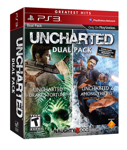 Uncharted Greatest Hits Dual Pack Image 1