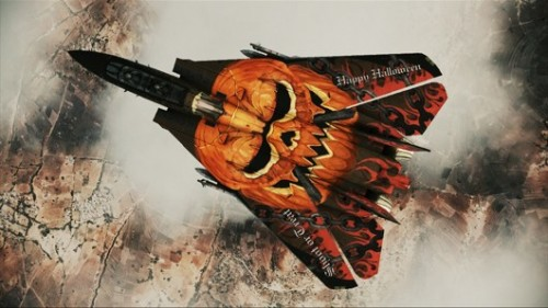 Ace Combat Assault Horizon Pumpkin Image
