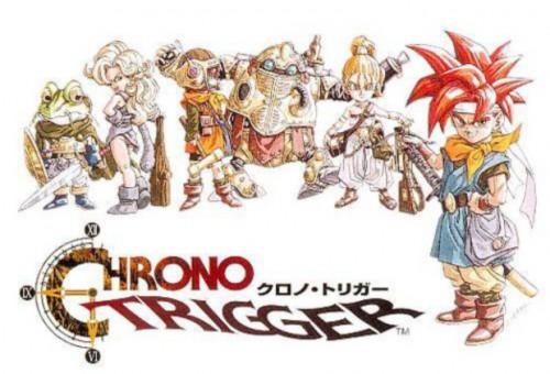 Chrono Trigger Artwork Japaense PS1 Box