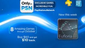 Only On PSN Eufloria Image
